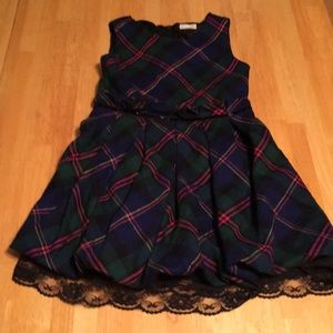Place 89 girls plaid dress